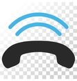 Phone Ring Icon vector image vector image