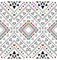 tribal geometric design vector image vector image