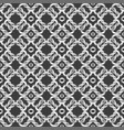 white net on black background seamless pattern vector image vector image
