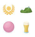 Alcohol sports and other web icon in cartoon vector image