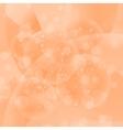 Circle Orange Light Background vector image