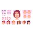 female face constructor woman avatar creation kit