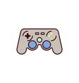 game controller icon gampad vector image