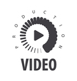 logo loading to view the video vector image vector image