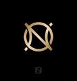 N o gold monogram luxury logo jewelry shop