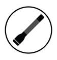 Police flashlight icon