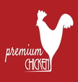 premium chicken2 resize vector image vector image