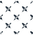 seamless pen pattern education symbol from icon vector image vector image