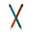 stationery related icon image vector image