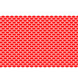 abstract pattern white net on red vector image vector image