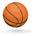 Cartoon basketball ips10 vector image vector image