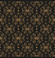 decorative seamless pattern in vintage gothic vector image vector image