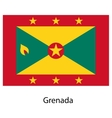 Flag of the country grenada vector image