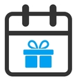 Gift Day Icon vector image