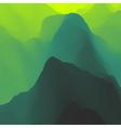 Mountain Landscape Mountainous Terrain vector image