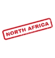 North Africa Rubber Stamp vector image vector image