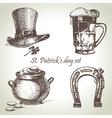 St Patricks Day set vector image vector image