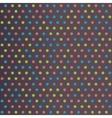 Vintage Polka Dots vector image vector image