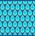 abstract seamless pattern water drops vector image vector image