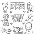 collection stock of musical instrument art vector image vector image