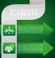 ecology infographics vector image