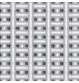 grunge check 3d greek seamless pattern vector image vector image