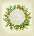 holiday christmas background with a gift card and vector image
