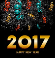 New Year 2017 firework explosion design