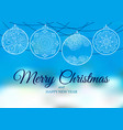 ornament on a blue and white backgrounds oriental vector image