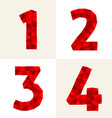 polygonal number vector image