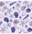 sea life marine seamless pattern texture vector image vector image