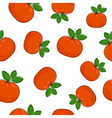 Seamless Pattern of Mandarin vector image vector image