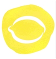 sketch of lemon vector image vector image
