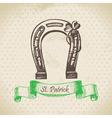 St Patricks Day vintage background