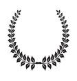 Laurel Wreath icon4 vector image