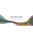 banner header website abstract colorful style vector image vector image