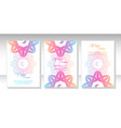 ethnic mandala ornament colorful ornamental vector image vector image