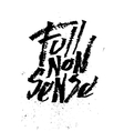 Full nonsense Cola pen calligraphy font vector image vector image