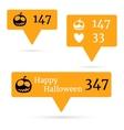 Halloween4 vector image vector image