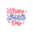 happy bastille day concept color background of vector image