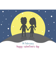 Happy valentine s day card12 vector image vector image