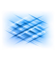 abstract lines blue cross vector image