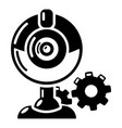 fan repair icon simple style vector image vector image