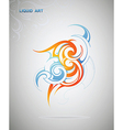 Graphic design element vector image vector image