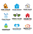 House Green Deal Tools Design vector image vector image