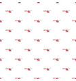 red helicopter pattern vector image vector image