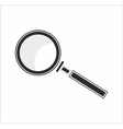 a magnifier vector image