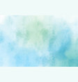 blue and green watercolor textured background vector image vector image