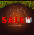 christmas gift boxes of sale vector image