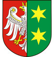 coat of arms of lubusz voivodeship in western vector image vector image